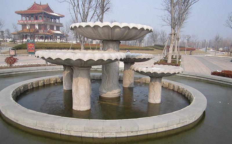 花岗岩喷泉