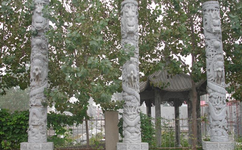 石雕龙柱被人们喜爱的原因所在