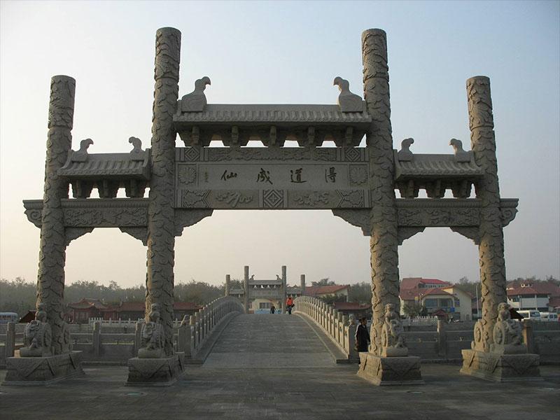 寺庙石牌坊建造的注意事项