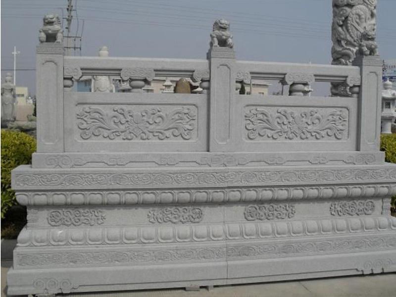 石栏杆安装讲究步骤才能保证稳固性