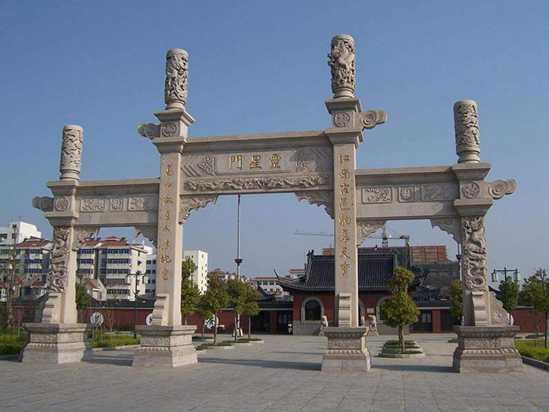 市场中热销石雕牌坊的结构样式